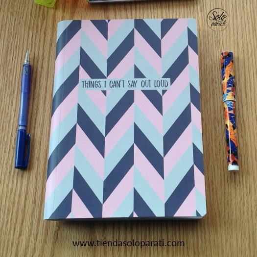 Cuaderno Things I cant Say  Cocotier Solo para Ti