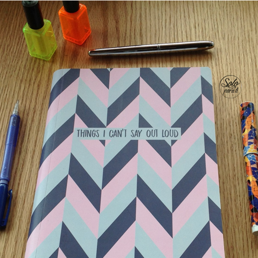 Cuaderno Things I cant Say  Cocotier Solo para Ti2