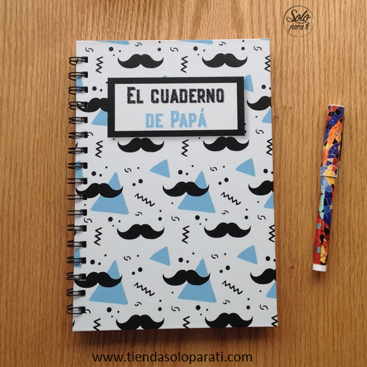 Cuaderno Papá dream on paper Solo para Ti4