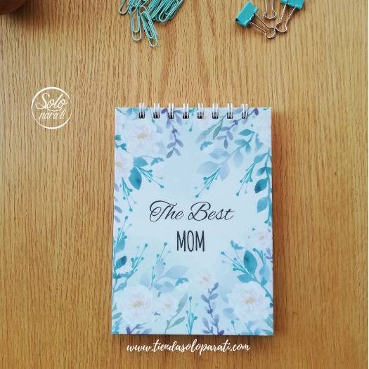 Libreta The Best Mom dream on paper solo para ti (2)