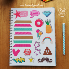 Cuaderno go with the flow folio solo para ti (1)