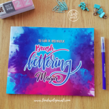 Guía Brushlettering Magia Papelins Solo para Ti (10)